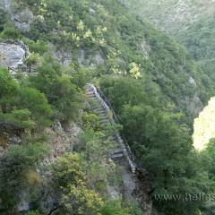 Tzavelena' s Ladder, Aheron River, Glyki